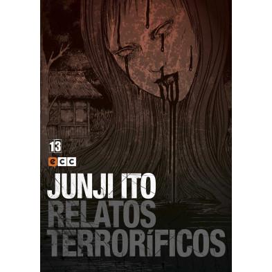 Cómic Relatos Terroríficos 13 Junji Ito