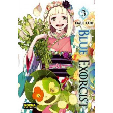 Cómic Blue Exorcist 3