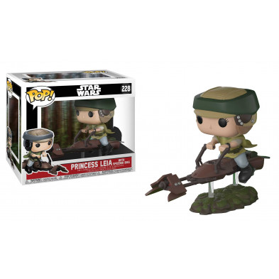 Figura Funko Pop! Princesa Leia con Speeder Bike