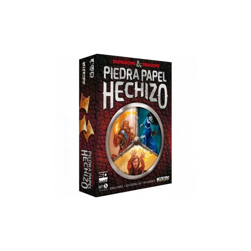 Juego de mesa Dungeons & Dragons: Piedra Papel Hechizo