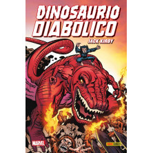 Cómic - Dinosaurio Diabólico de Jack Kirby
