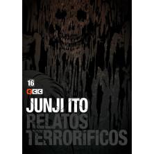 Cómic Relatos Terroríficos 16 Junji Ito