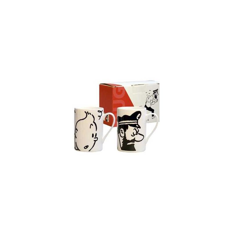 Dúo mug - Tintín -Haddock