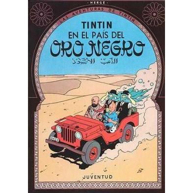 Cómic - Tintín nº 15 -  En el país del oro negro