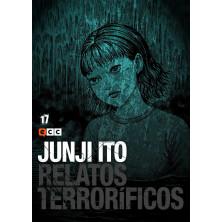 Cómic Relatos Terroríficos 17 Junji Ito