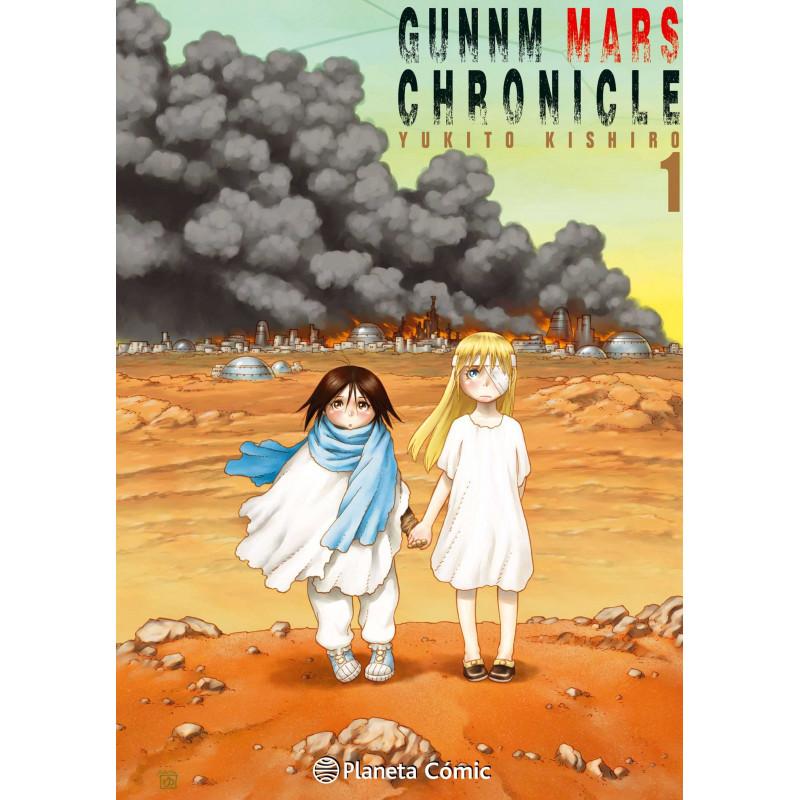 Cómic Gunnm Mars Chronicle 01