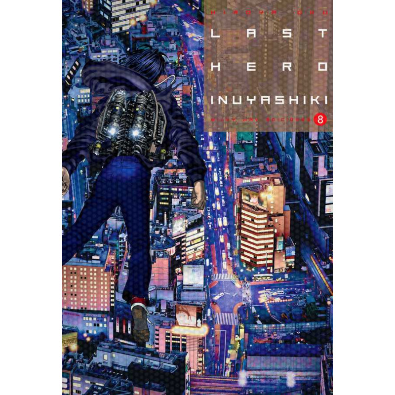 Cómic Last Hero Inuyashiki 08