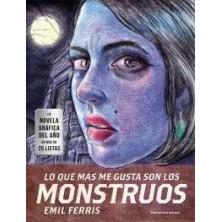 Cómic Lo que más me gusta son los monstruos