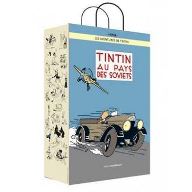 Bolsa de papel Tintín Au Pays des Soviets