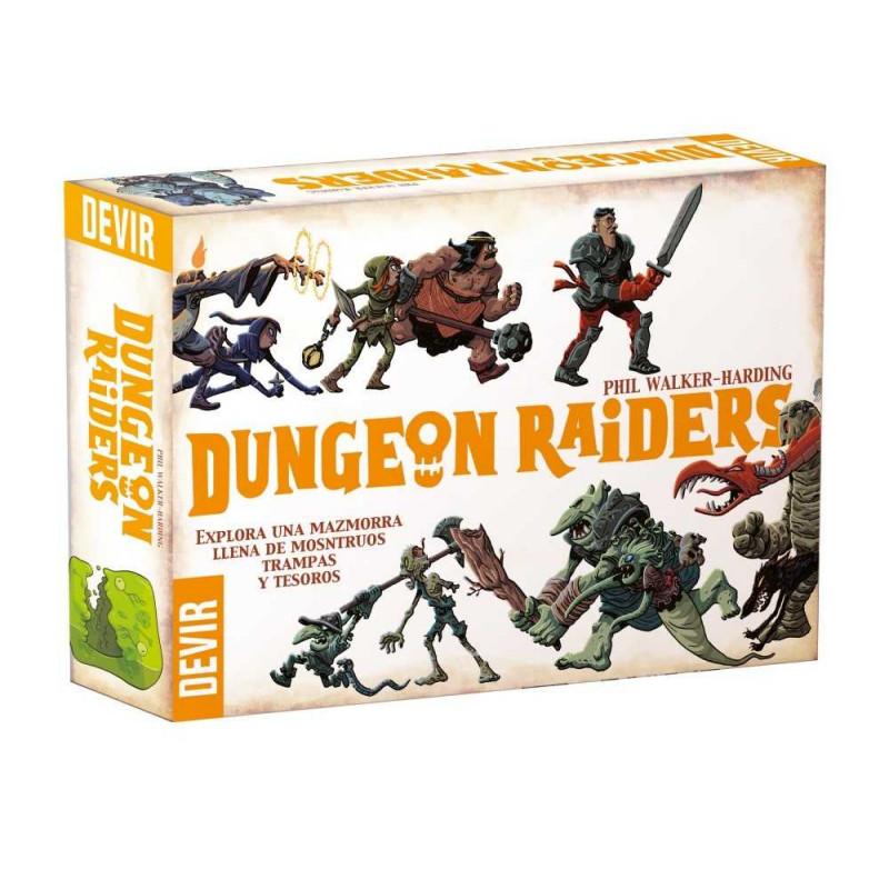 Juego de mesa Dungeon Raiders