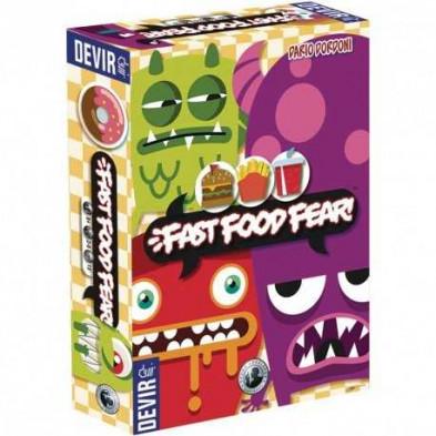 Juego de mesa Fast Food Fear!