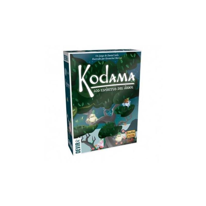 Juego de mesa Kodama: Los espíritus del árbol