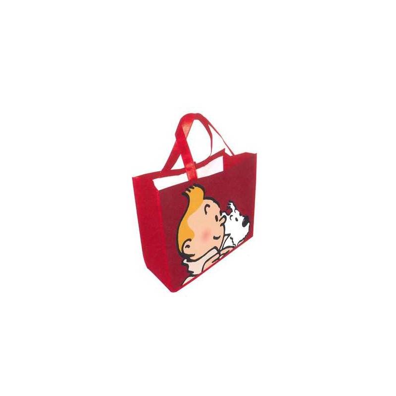 Bolsa semi-impermeable roja - Tintín