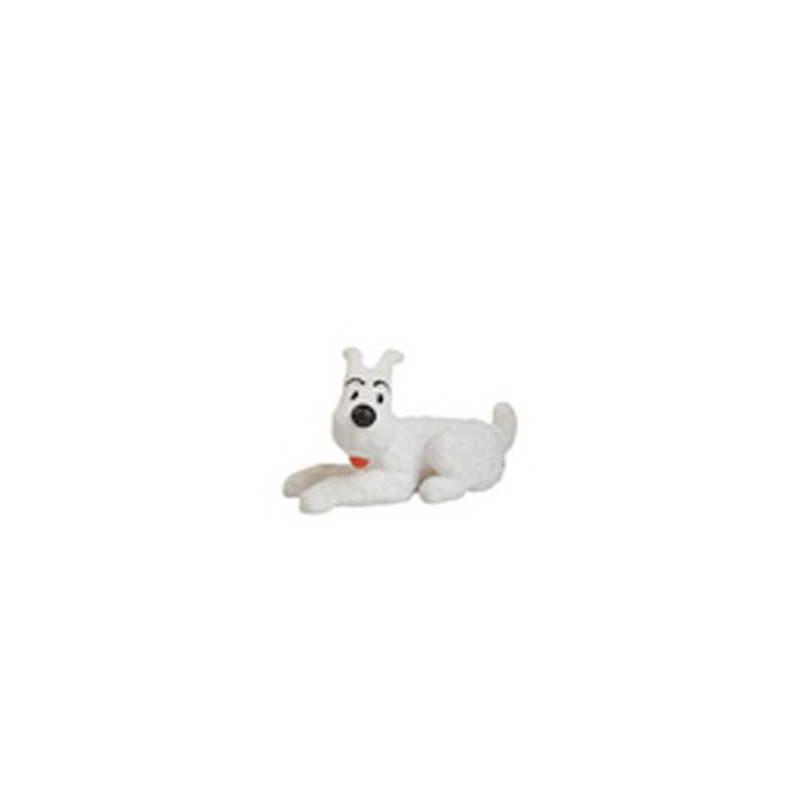 Figura PVC - Milú estirado - 4'5 cm.