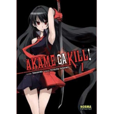 Cómic Akame Ga Kill! 01