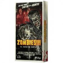Juego de mesa Zombies el juego de cartas