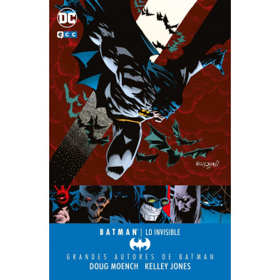 Cómic - Grandes autores de Batman: Moench y Jones - Lo invisible