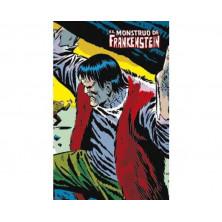 Cómic - El monstruo de Frankenstein
