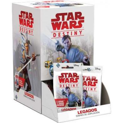 Sobre de cartas Star Wars Destiny Legados