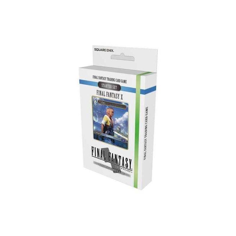 Final Fantasy X Set de inicio juego de cartas