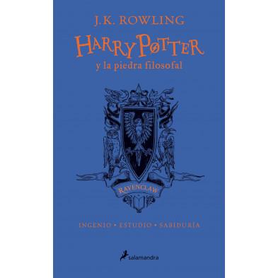 Libro - Harry Potter y la piedra filosofal - 20 aniversario (Ravenclaw)