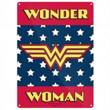 Chapa metálica Wonder Woman