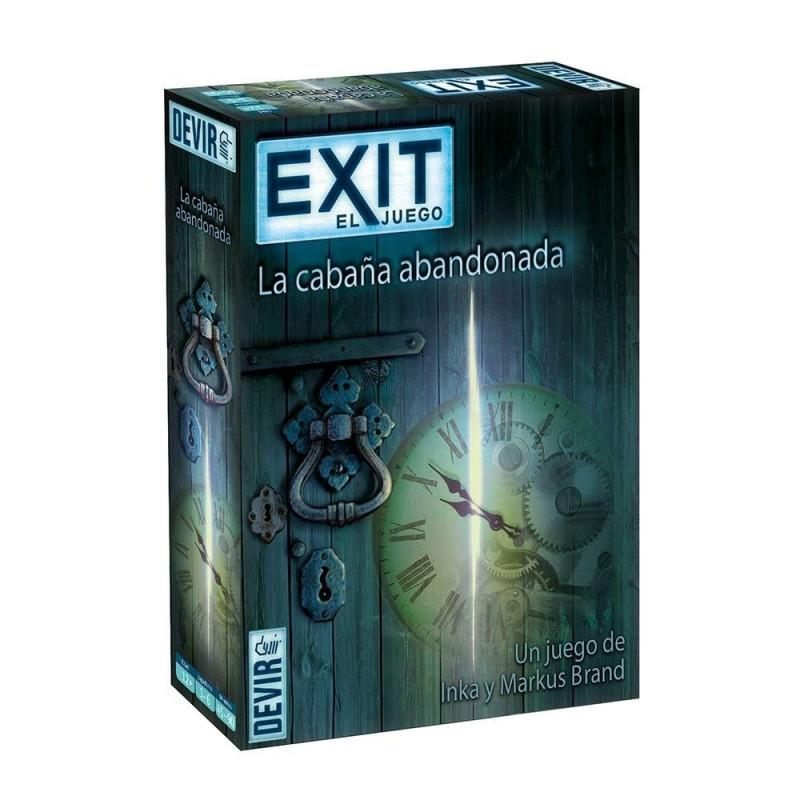 Juego Exit - La cabaña abandonada