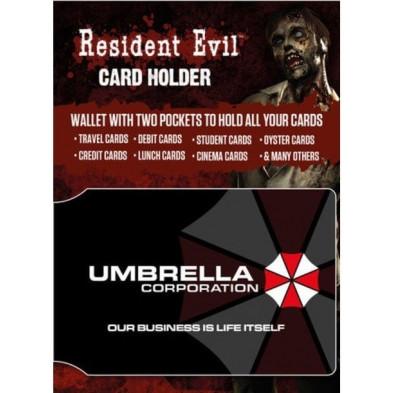 Tarjetero Resident Evil Corporación Umbrella