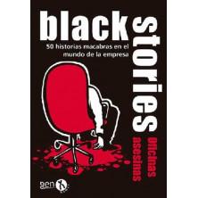Juego de cartas Black Stories Oficinas Asesinas