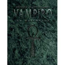 Libro de Rol Vampiro La Mascarada edición de bolsillo