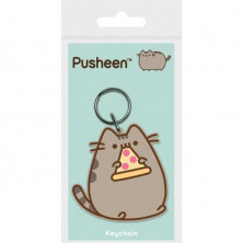 Llavero Pusheen Pizza