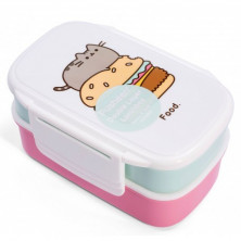 Fiambrera doble Pusheen