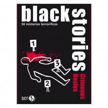 Juego de mesa Black Stories: Crímenes Reales