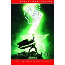 Cómic Los Vengadores de Jonathan Hickman 04. Infinito Parte 2 (Marvel Now! Deluxe)