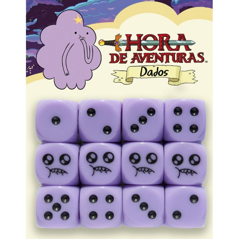 Pack de dados de Hora de Aventuras Princesa Bultos