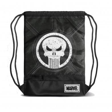 Bolsa tipo saco con diseño de Punisher