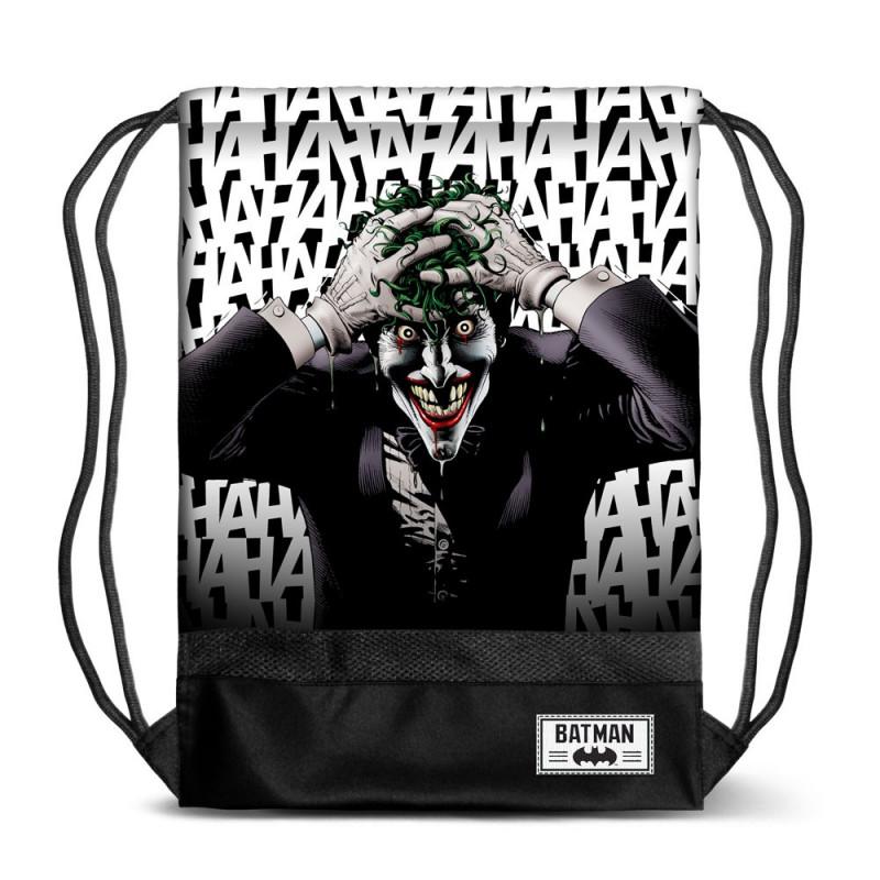 Bolsa tipo saco con diseño Joker de La Broma Asesina