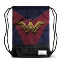 Bolsa tipo saco con diseño de Wonder Woman