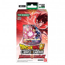 Mazo de cartas Dragon Ball Super TCG Saiyan Legacy - Inglés