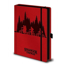 Libreta Premium A5 - Stranger Things