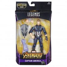 Figura de Capitán América - Marvel Legends Series Avengers