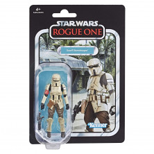 Figura de Scarif Stormtrooper - Star Wars Vintage Collection