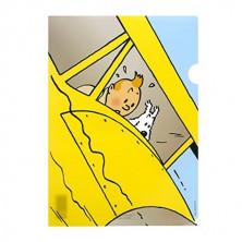 Dossier Tintín en hidroavión amarillo