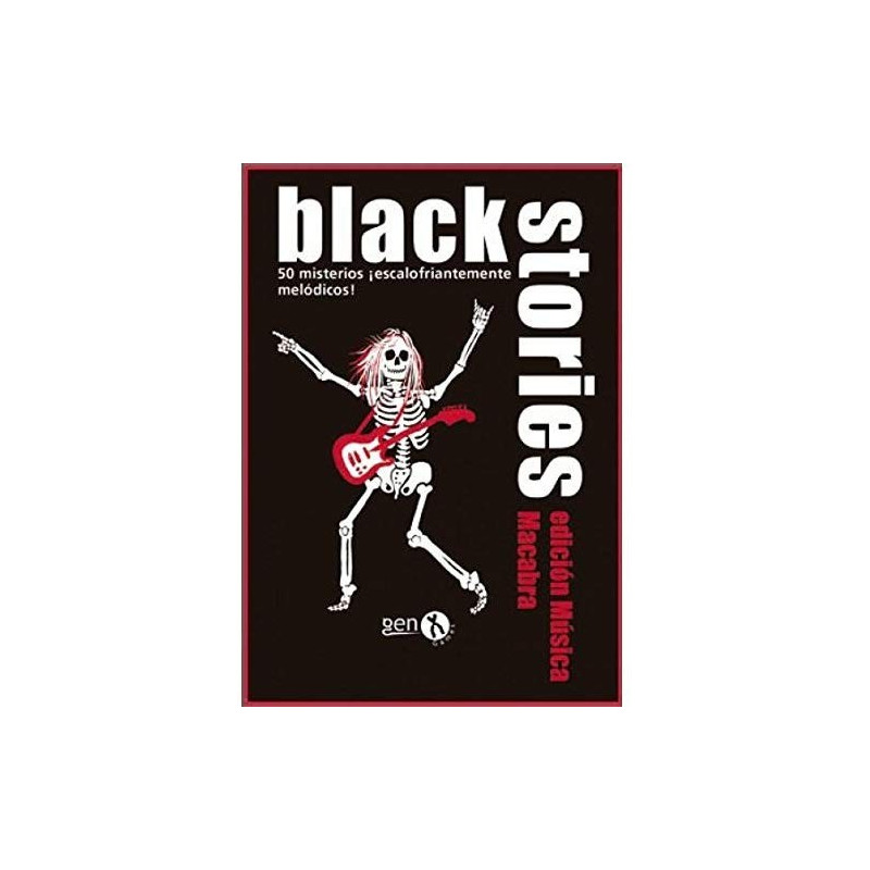 Juego de cartas - Black Stories - Música macabra