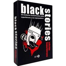 Juego de cartas - Black Stories - Superhéroes