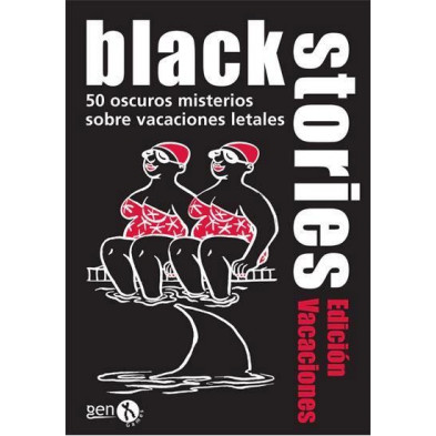 Juego de cartas - Black Stories - Vacaciones