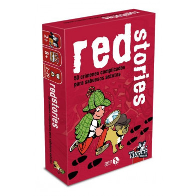 Juego de cartas - Red Stories (Black Stories Junior)