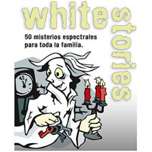 Juego de cartas - White Stories (Black Stories Junior)
