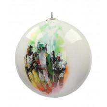 Bola para árbol de Navidad - Bounty Hunters - Star Wars