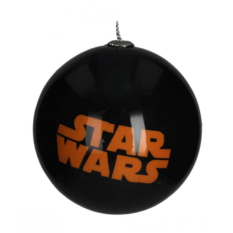 Bola para árbol de Navidad - Logo Star Wars